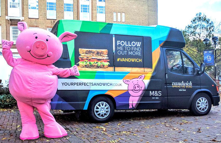 M&S Ice cream van hire, promo vehicle hire