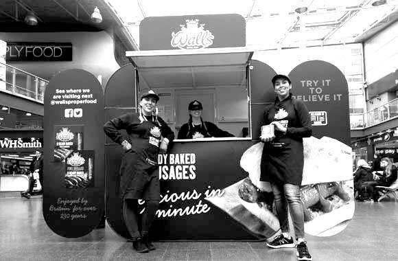 Walls Promo Truck - Promo Pod, Experiential Marketing & Promo Staff