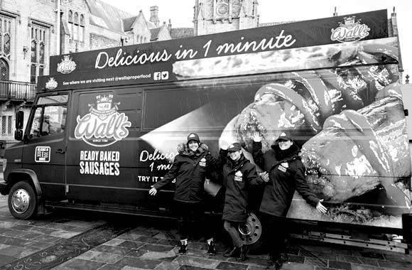 Walls Promo Truck - Promo Vehicle, Experiential Marketing & Promo Staff