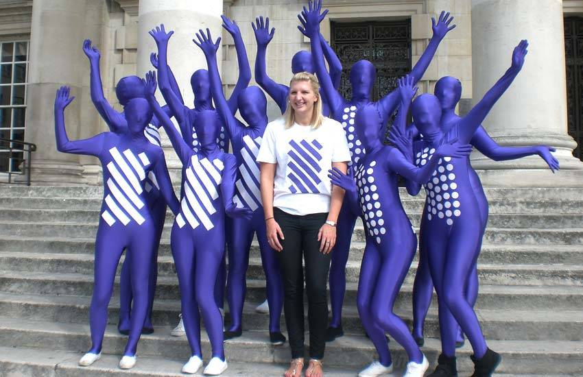 Cadbury Costumed Staff & Morph Suit Staff