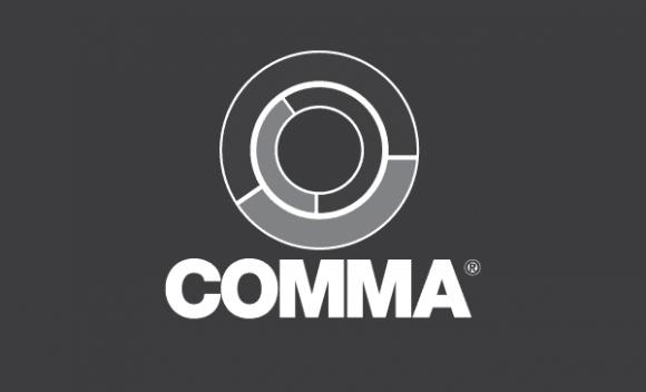 Comma Oil logo