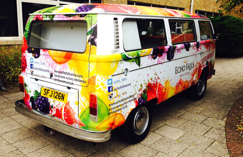Echo Falls Promo Camper Van - Promo Vehicle, Experiential Marketing & Promo Staff