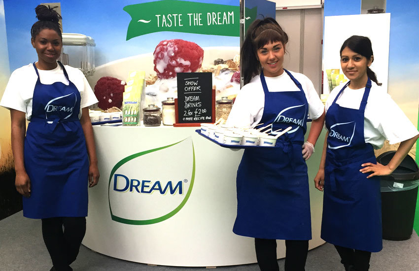 Dream - Exhibition Staff, Product Sampling, Experiential & Promo Staff