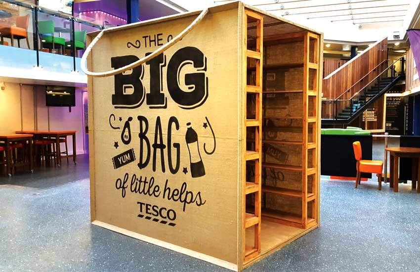 Tesco Big Bag by iMP Brand Activation Agency