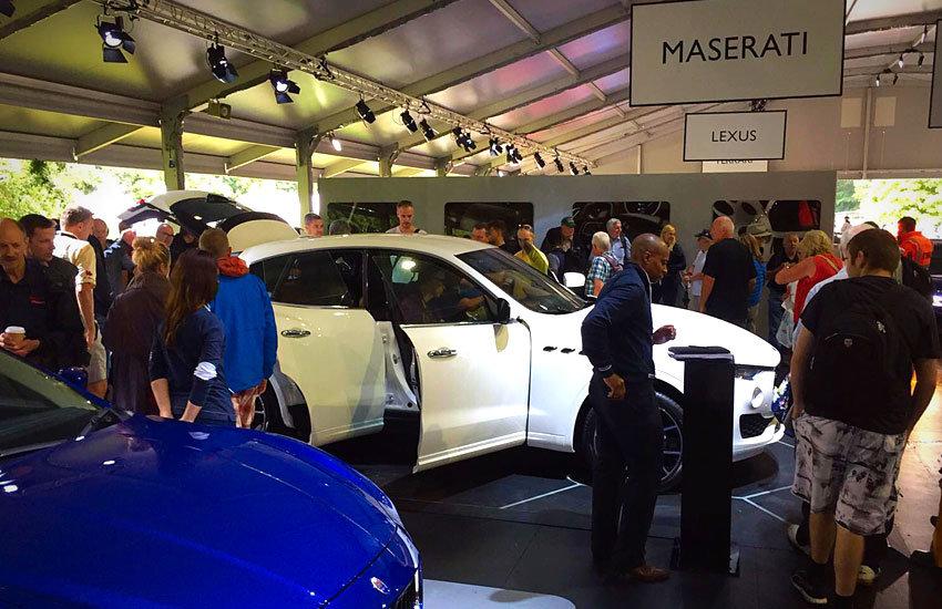 Maserati - Promo Girls, Experiential & Promo Staff