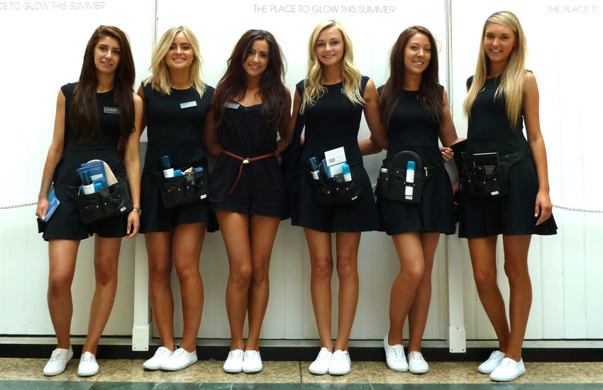 Promo Girls, Product Sampling, Experiential & Promo Staff