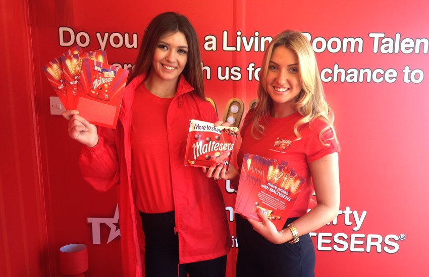 Maltesers - Promo Girls, Product Sampling, Experiential & Promo Staff