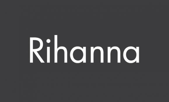 Kiss by Rihanna - logo