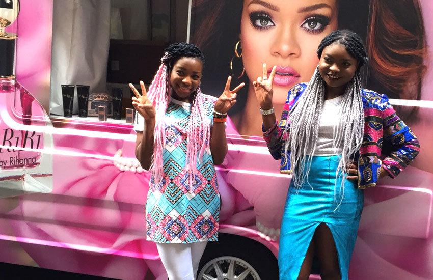 Rihanna RiRi - Promo Vehicle, Experiential Marketing & Promo Staff