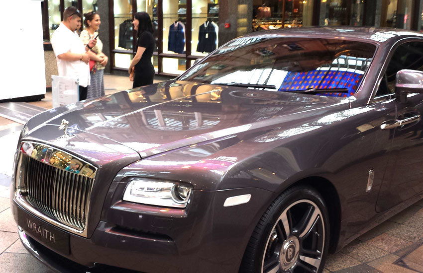 Rolls Royce - Product Sampling, Experiential & Promo Staff