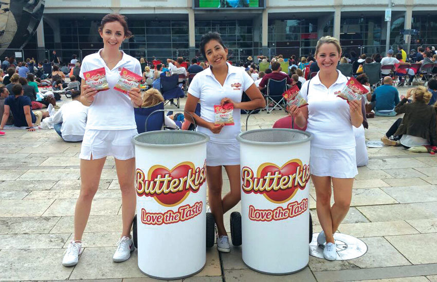 Butterkist - Product Sampling & Sampling bin Hire