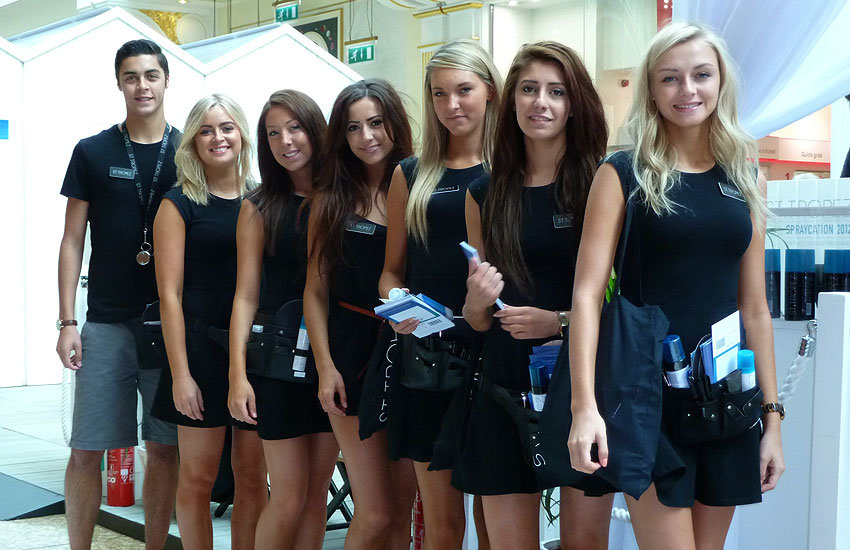 St Tropez - Product Sampling, Experiential & Promo Staff