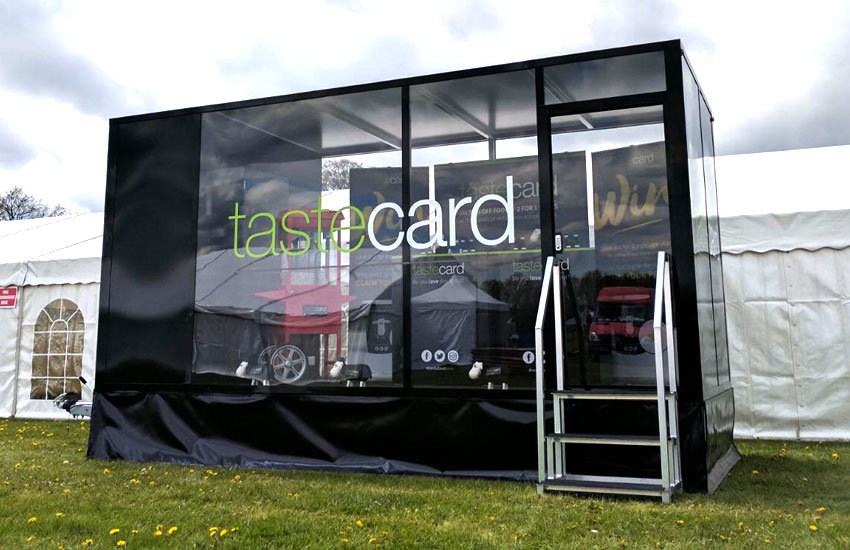 Taste Card Promo Trailer - Promo Vehicle, Experiential Marketing & Promo Staff