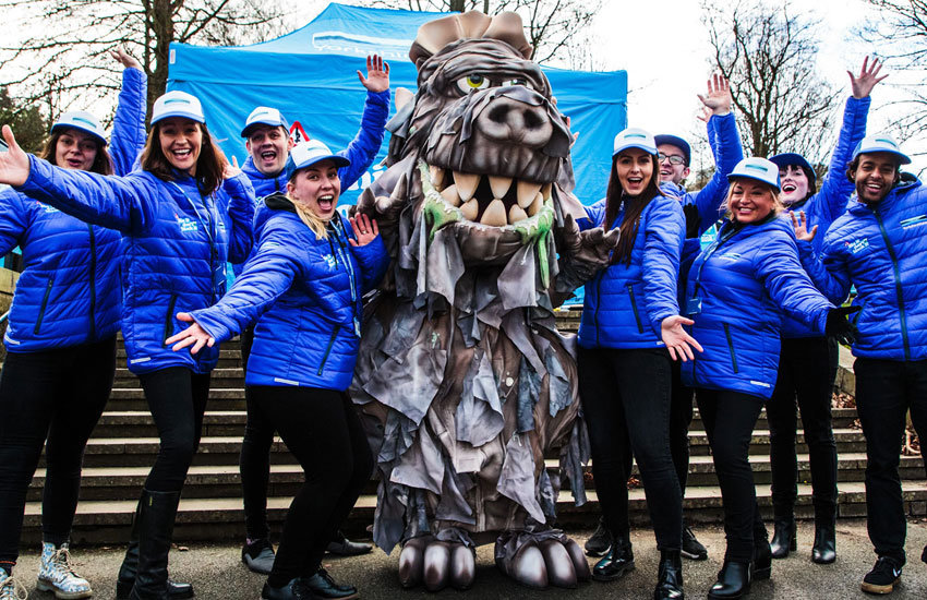 Yorkshire Water Costume Staff & Mascot Staff