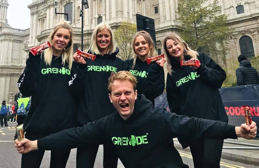 iMP sampling agency Leeds campaign for Grenade Sports Nutrition