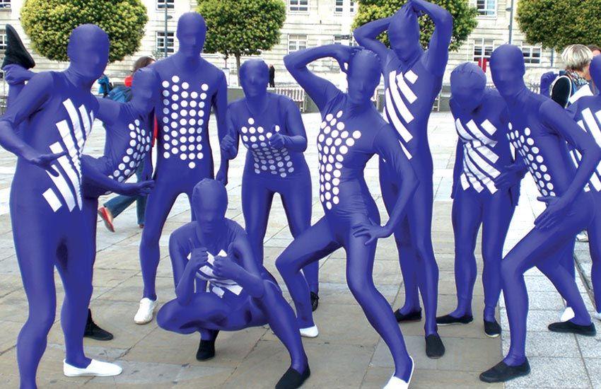 Costumed Leeds Promo Staff