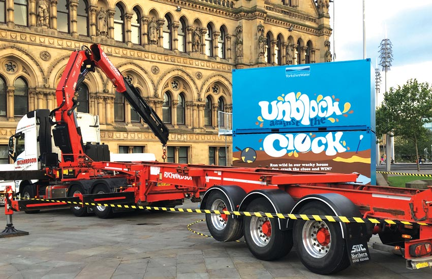 iMP created an experiential campaign for Yorkshire Water