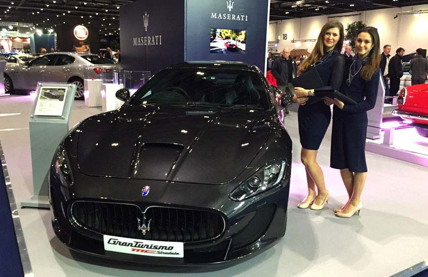 iMP provide brand ambassadors for Maserati events and product launches across the UK.
