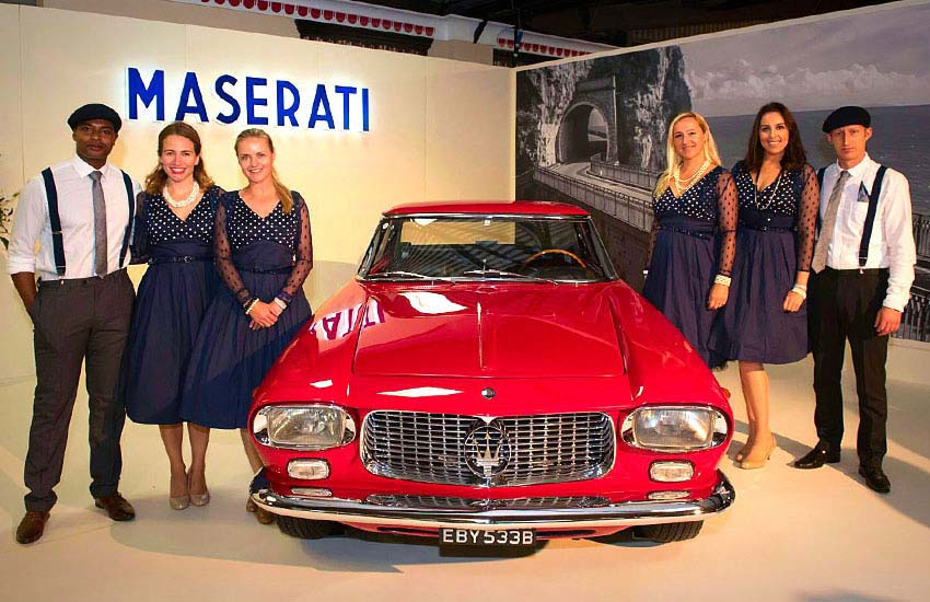iMP London event staff for Maserati