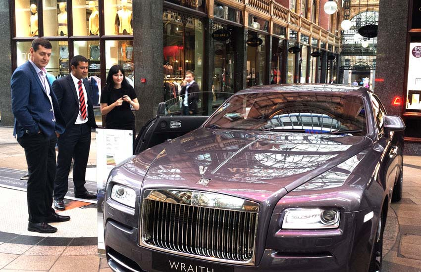 iMP supplied experiential marketing staff for the Rolls-Royce Wraith launch.