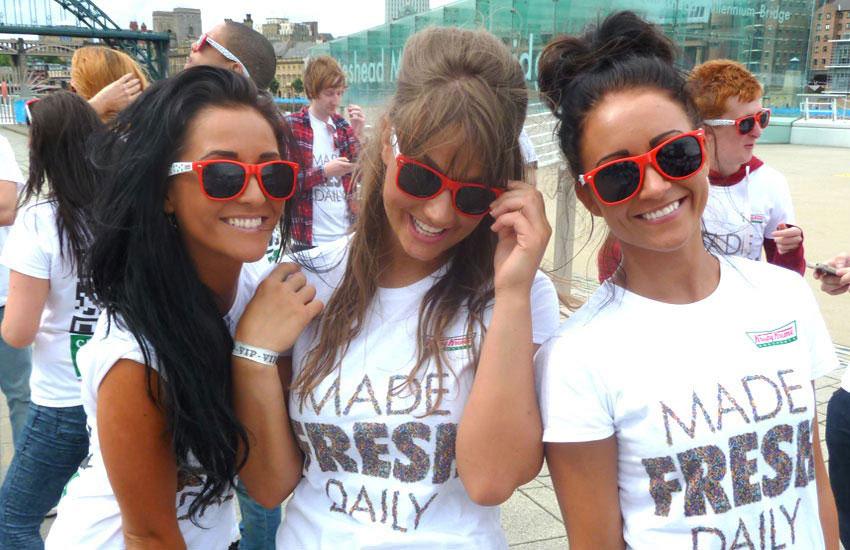 iMP Krispy Kreme Promo Girls