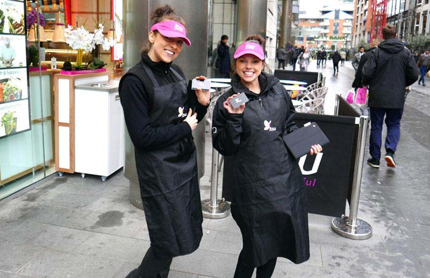 iMP supply promotional and sampling staff for 'itsu' in Leeds.