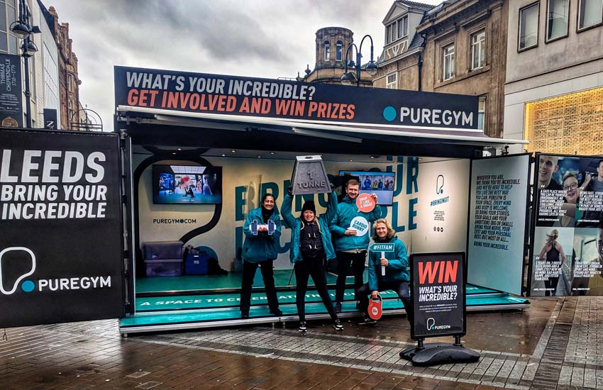 iMP exclusively provide all promo staff for PureGym in Leeds.
