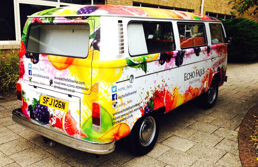 Echo Falls Promo Camper Van